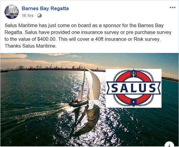 Barnes Bay Regatta Fbook